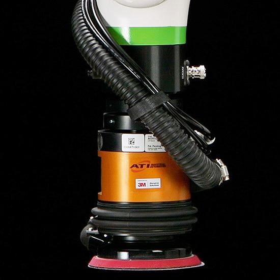 ATI AOV Robotic Orbital Sander FANUC CRX