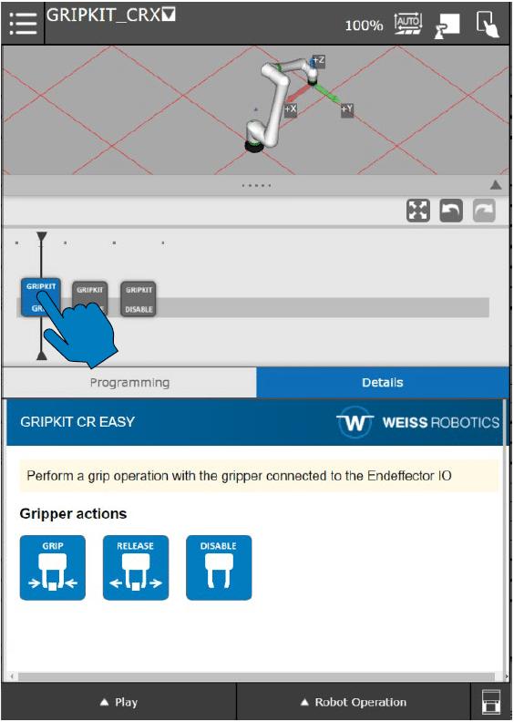 WEISS software for CRX