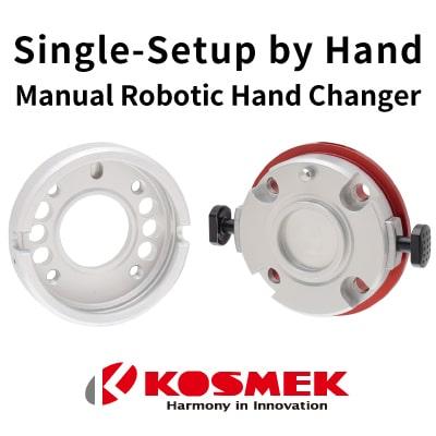 Kosmek Manual Robotic Hand Changer