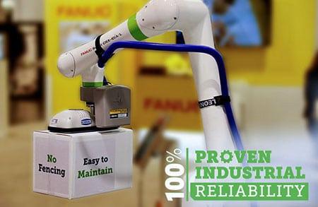 Collaborative Robot Palletizing