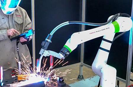 CRX Collaborative Robot Welding
